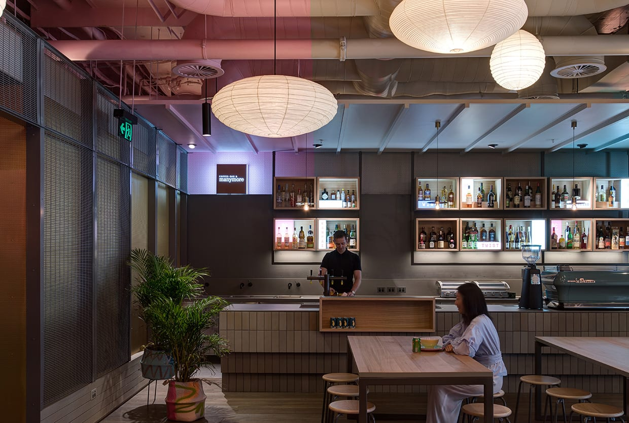 HWKR Food Centre in Melbourne by Craig Tan Architects | Yellowtrace
