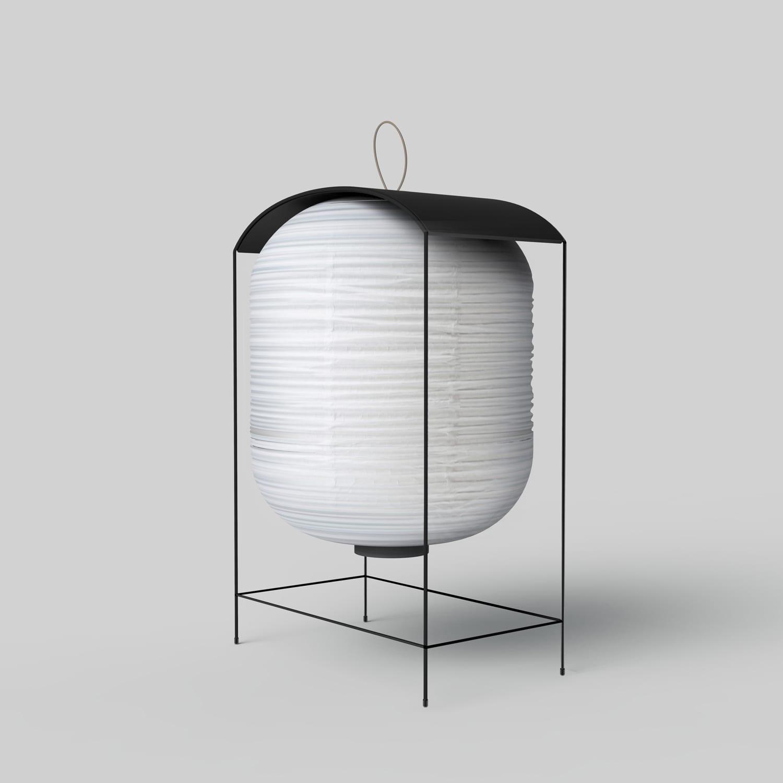 KIMU Design Nigiri Floor Lamp at Stockholm Furniture Fair 2018 | Yellowtrace