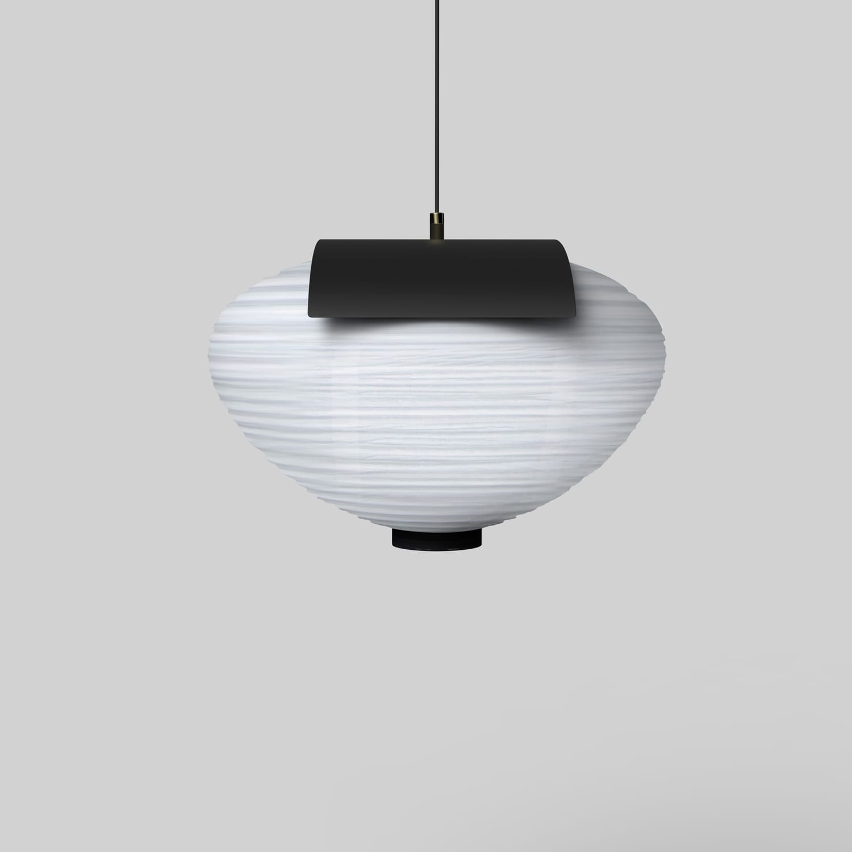 KIMU Design Onigiri Pendant Lamp at Stockholm Furniture Fair 2018 | Yellowtrace