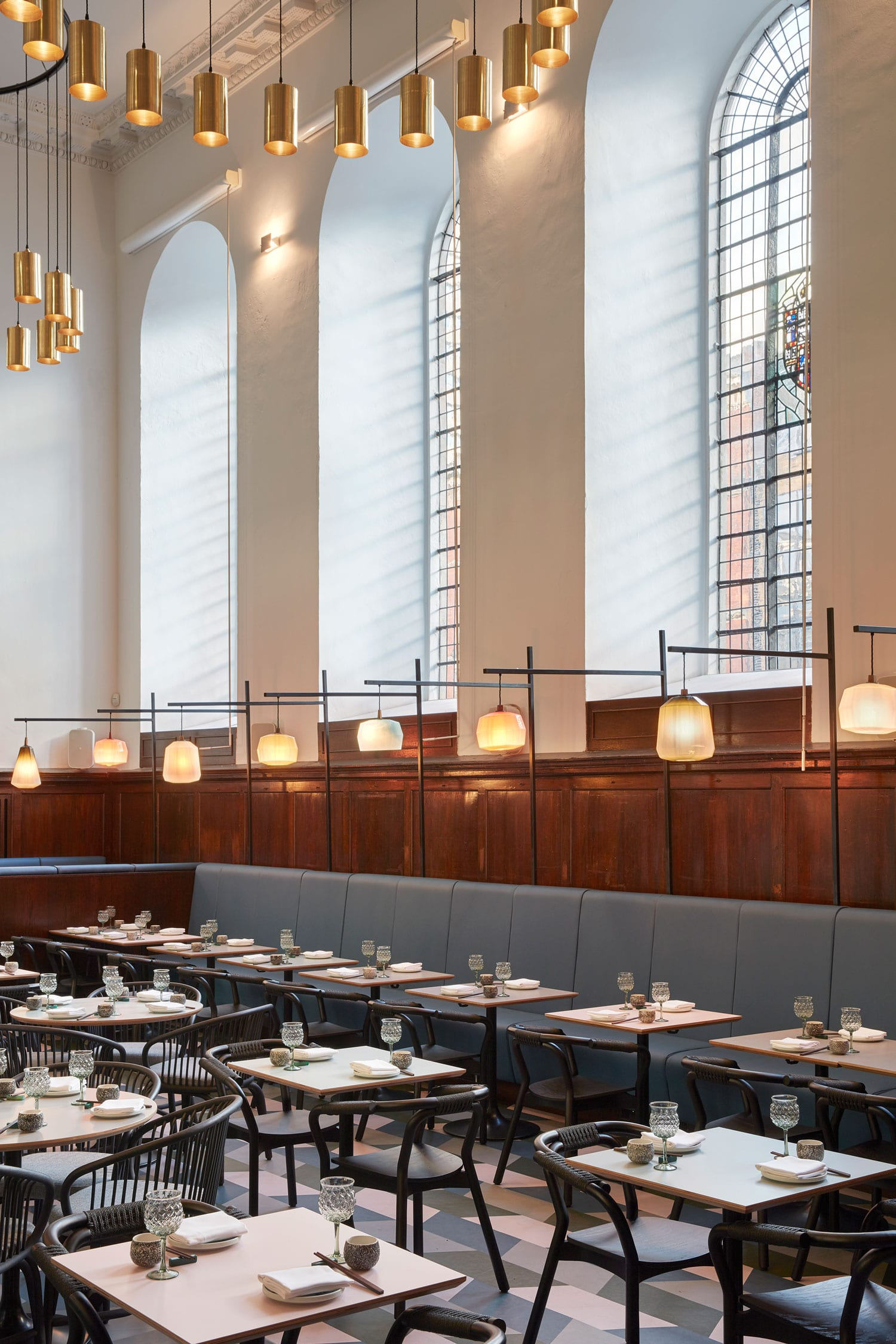 Fine dining restaurant duddell s set in st thomas church