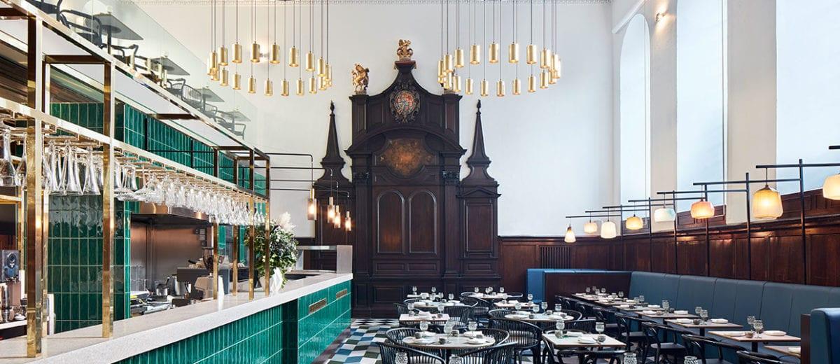 Michaelis Boyd Designs Fine-Dining Cantonese Restaurant Duddell's in a Historic St Thomas Church, London | Yellowtrace
