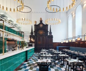 Michaelis Boyd Designs Fine-Dining Cantonese Restaurant Duddell's in a Historic St Thomas Church, London | Yellowtrace