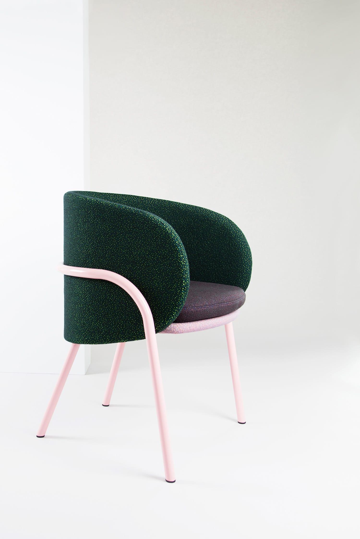 Wompoo chair by Nikolai Kotlarczy at Stockholm Furniture Fair 2018   Yellowtrace