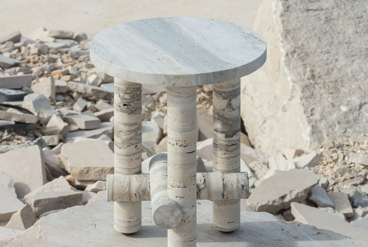 Ocean Travertine Stone Collection by Clément Brazille | Yellowtrace