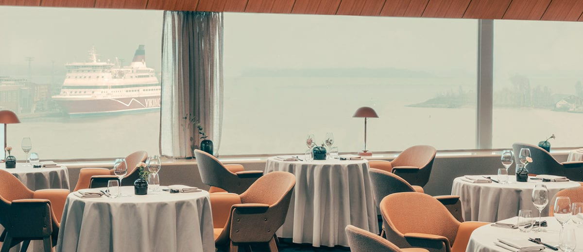 Palace Restaurant Helsinki by Note Design Studio | Yellowtrace