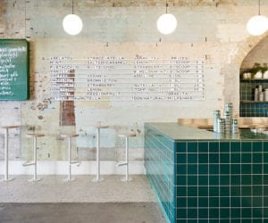 Piccolina Gelateria by Hecker Gurthrie References 1950s Southern Italy | Yellowtrace
