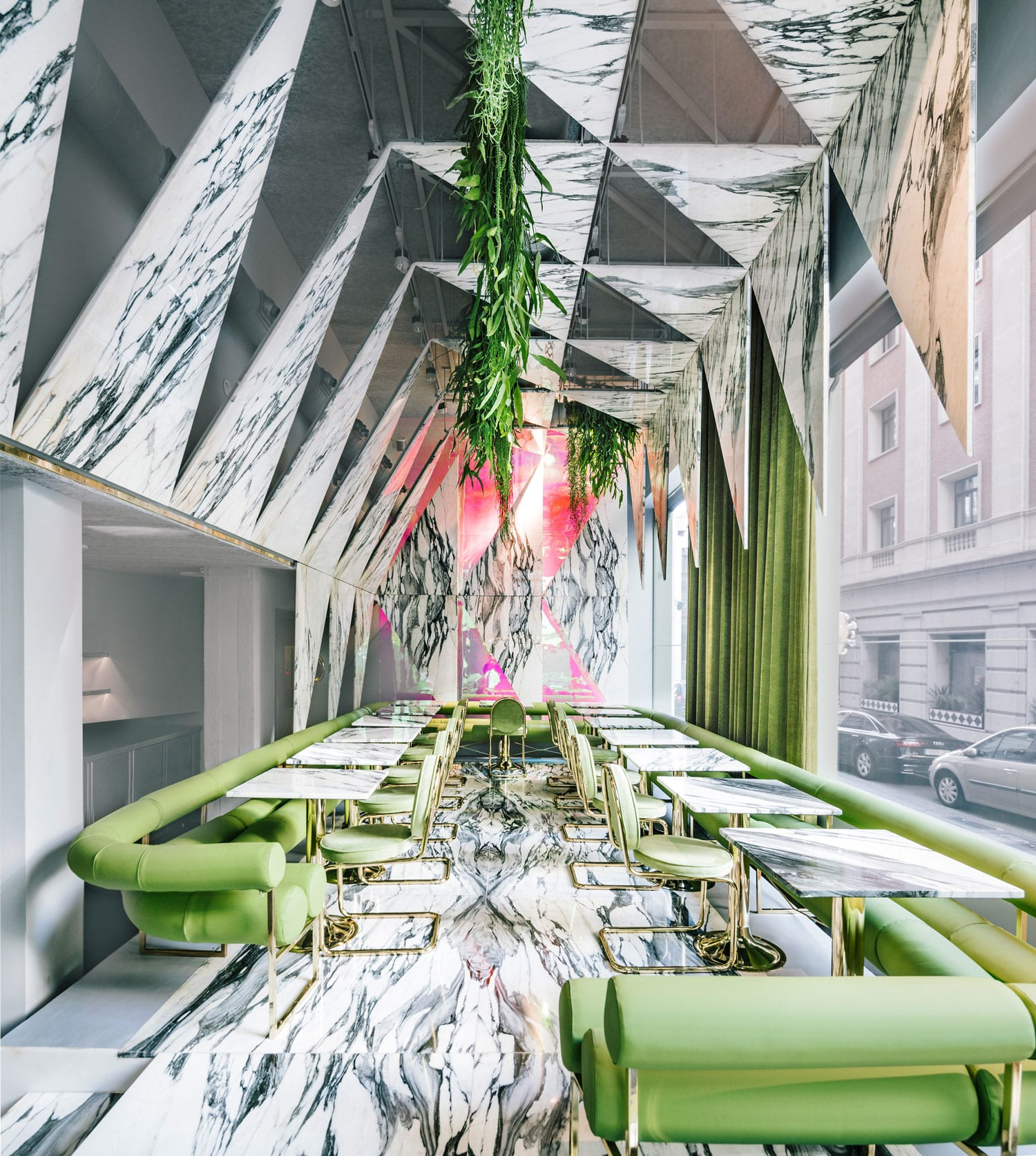 Psychedelic Trip: Romola Restaurant in Madrid by Andres Jaque | Yellowtrace
