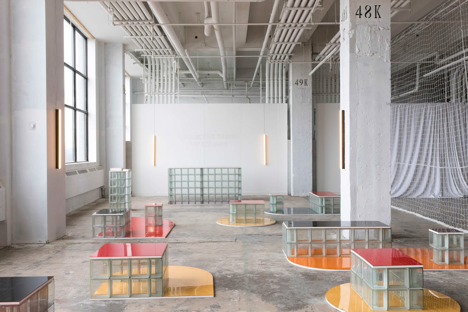Collective Design 2018 VIP Lounge designed by LOT & Objects of Common Interest | Yellowtrace