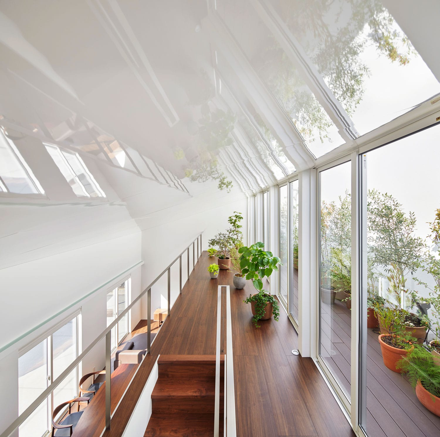 House With Plants In Japan By Kamakurastudio Yellowtrace