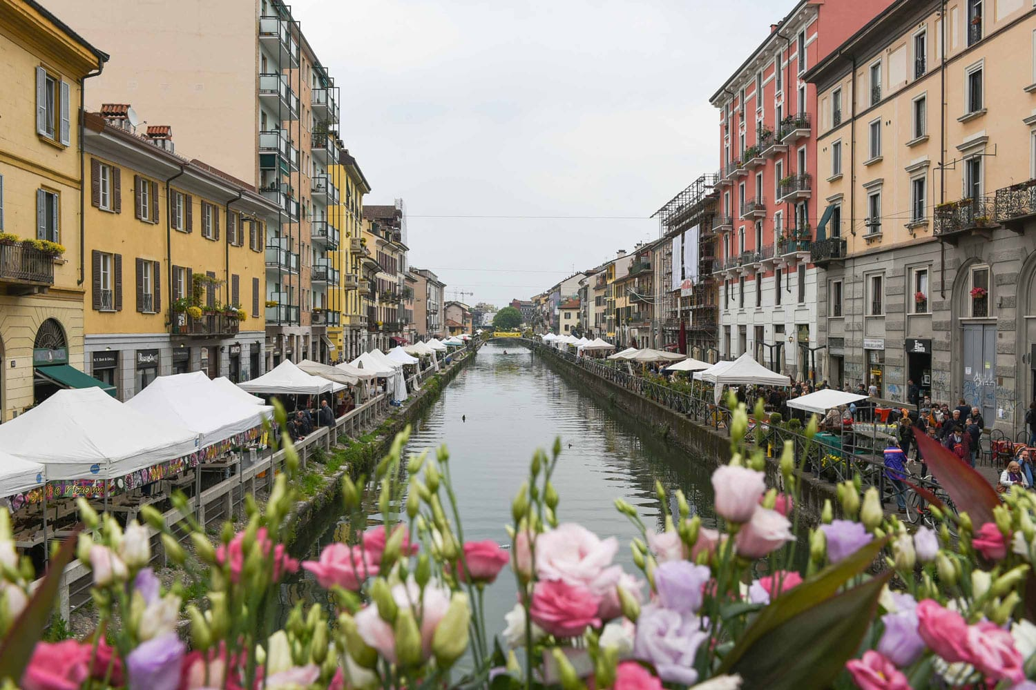 Milan Naviglio Grande in Bloom, Photo © Nick Hughes, Yellowtrace | #Milantrace2017