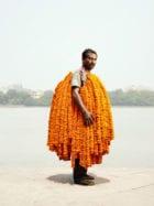 Portraits of Indian Flower Men by Danish Photographer Ken Hermann | Yellowtrace