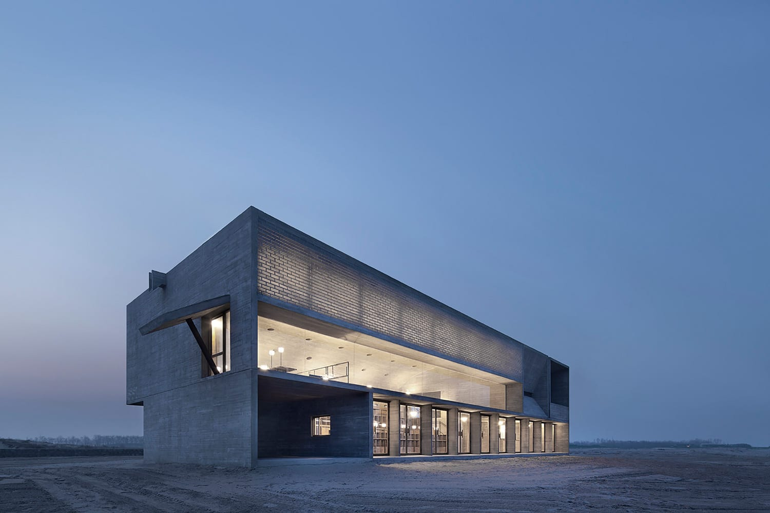 Seashore Library Vector Architects | Yellowtrace