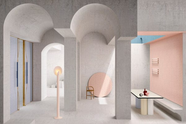 House of Tiles: Concept Space & Tile Collection by Marcante-Testa for Ceramica Vogue   Yellowtrace