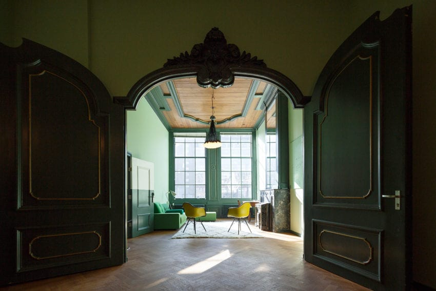Institute of Advanced Study of the University of Amsterdam by HOH Architecten   Yellowtrace