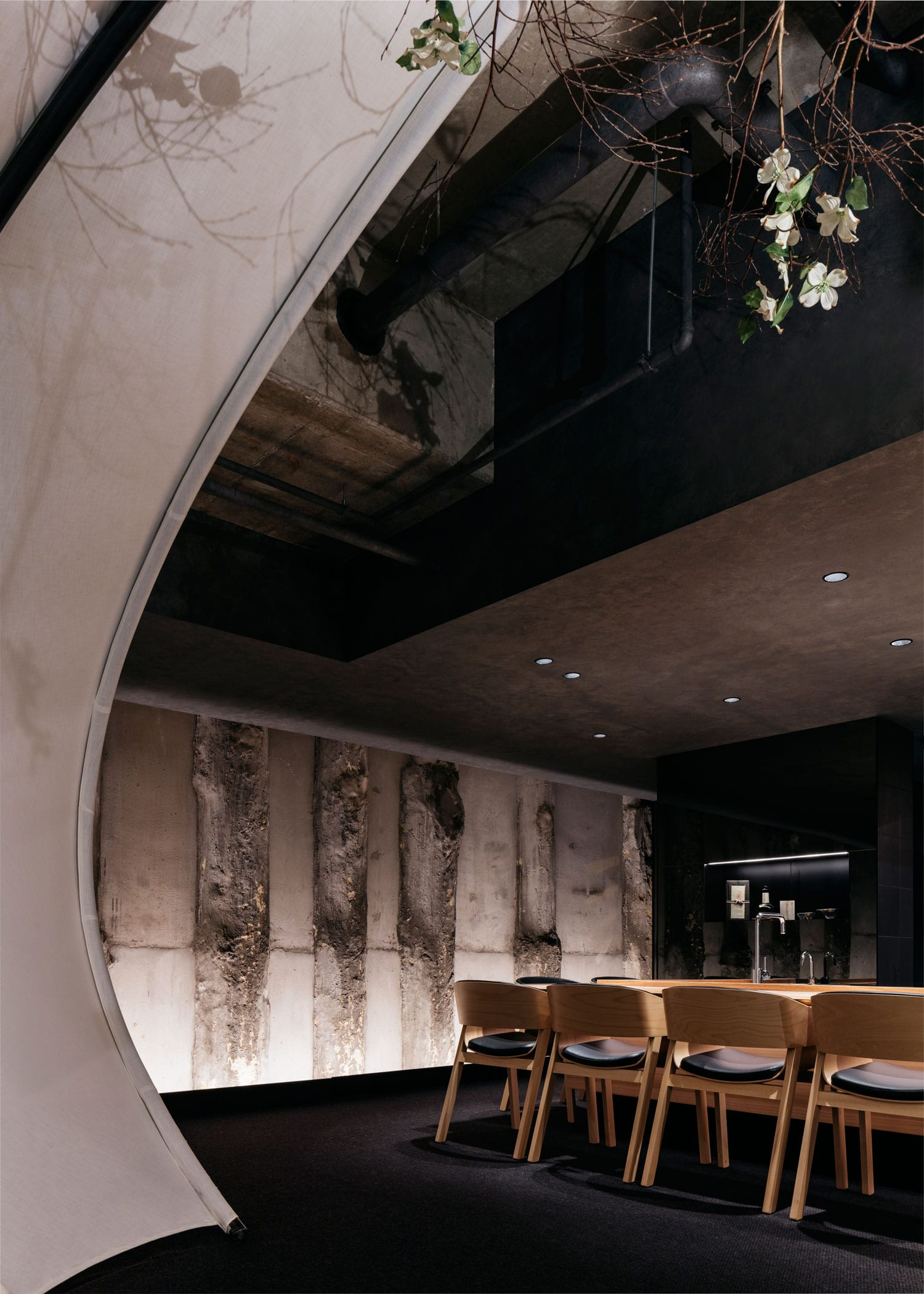Ishizuka Restaurant in Melbourne by Russell & George | Yellowtrace