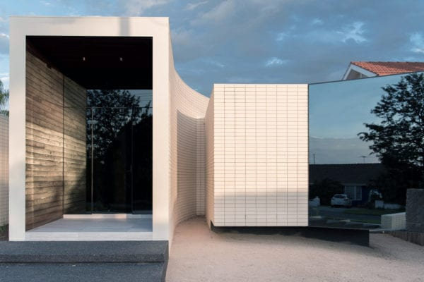Built with Brickworks: Ivanhoe House by Kavellaris Urban Design   Yellowtrace