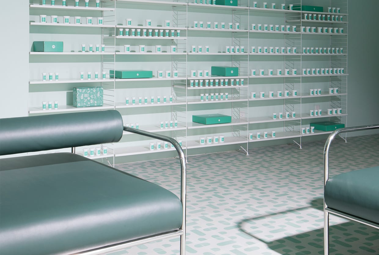Medly Pharmacy in Brooklyn by Sergio Mannino Studio | Yellowtrace