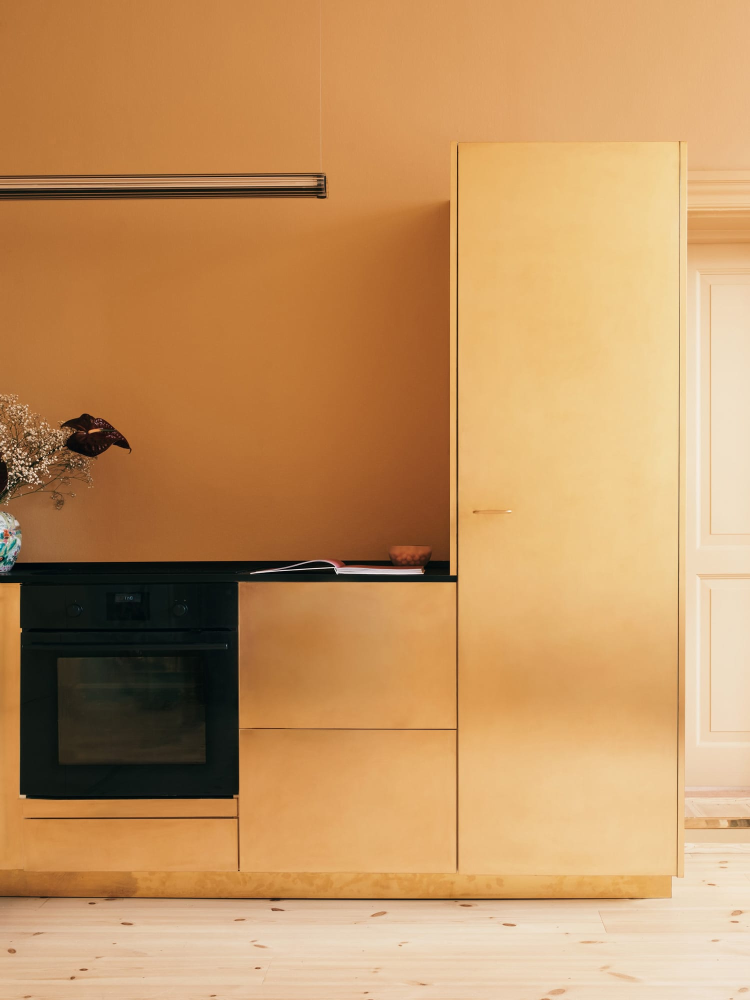 Solid Gold: Danish Fashion Designer Stine Goya's Studio Kitchen | Yellowtrace
