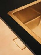 Solid Gold: Danish Fashion Designer Stine Goya's Studio Kitchen   Yellowtrace