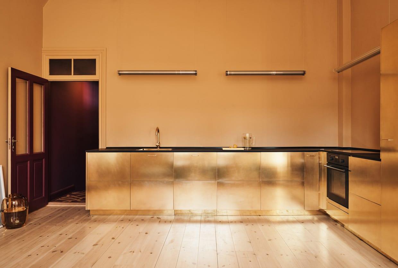 Danish fashion designer stine goya 39 s studio kitchen - Ikea kitchen designer los angeles ...