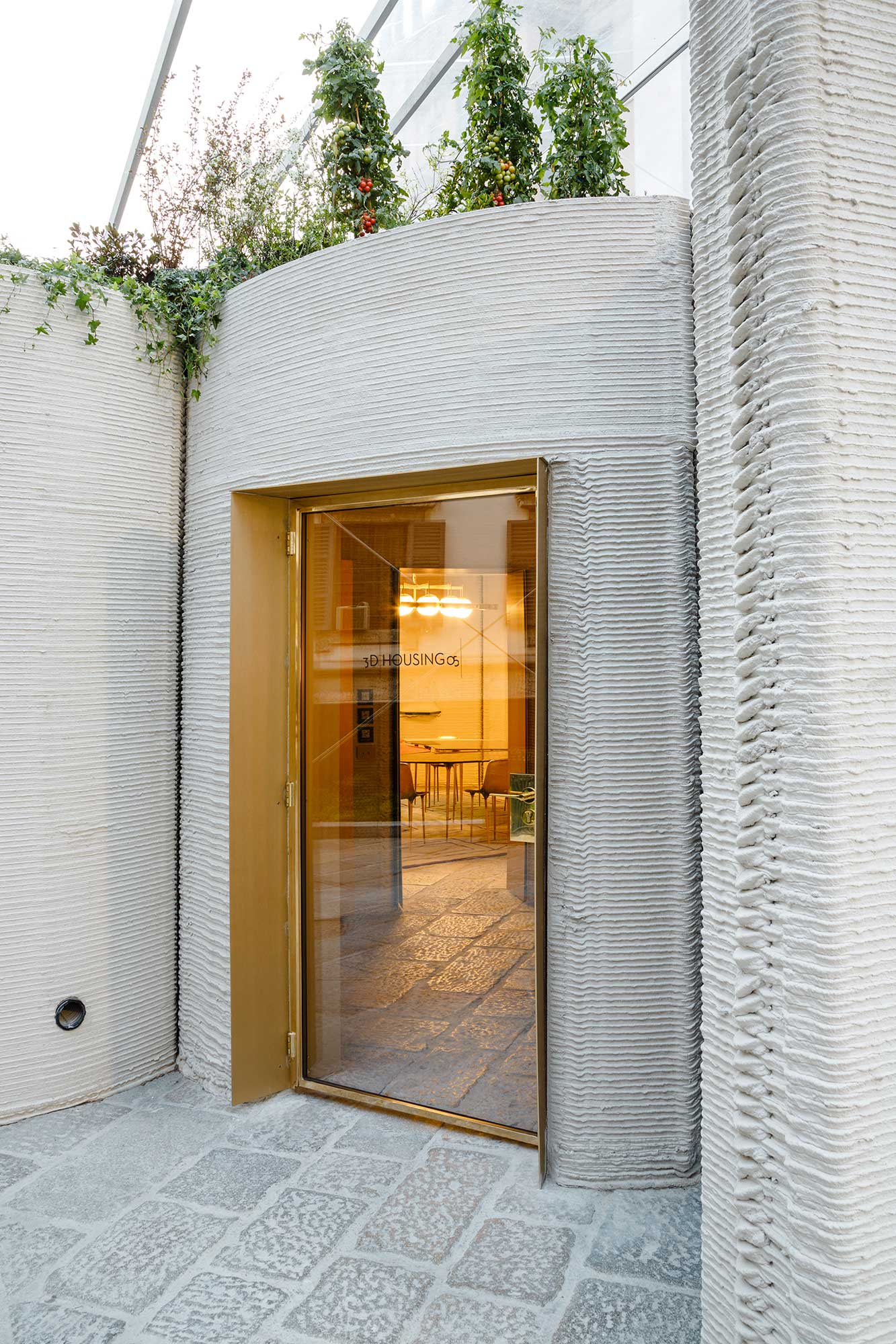 3D Printed House by Massamiliano Locatelli's CLS Architetti Revealed in Milan | Yellowtrace