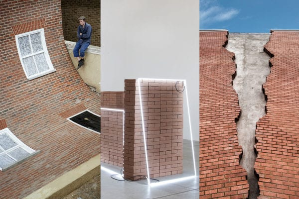 Art With Bricks Curated by Yellowtrace