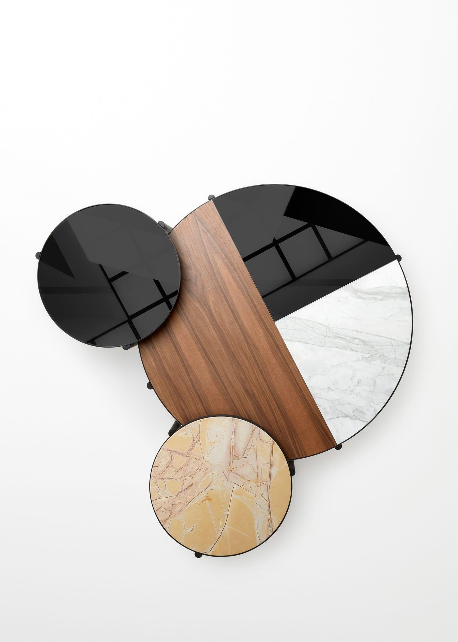 Australian Designers in Milan: Noon tables byRoss Gardam | #Milantrace2018