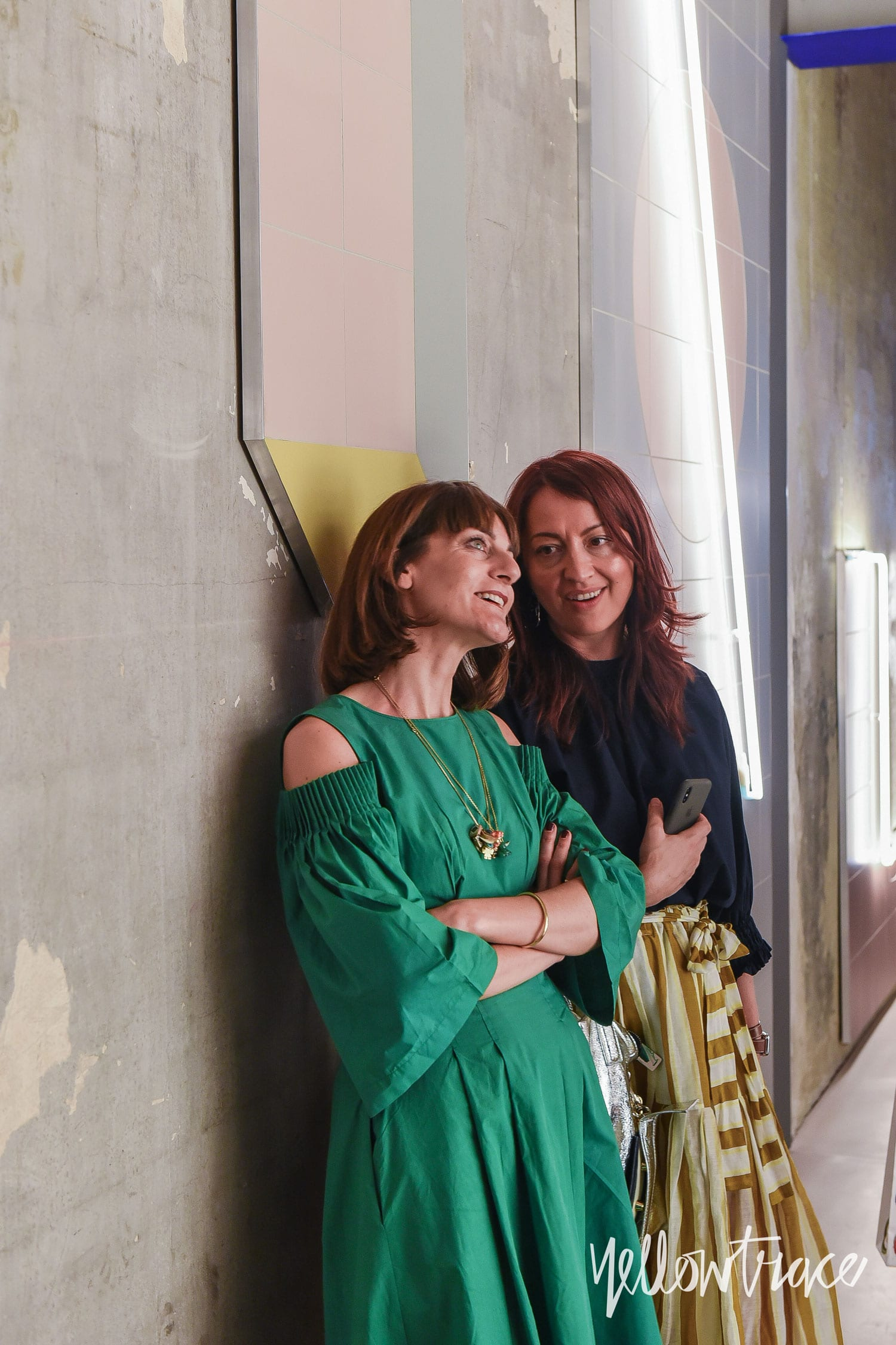Dana Tomic Hughes, Yellowtrace and Arianna Lelli Mami, Studiopepe at Clubunseen, Milan Design Week 2018. Photo © Nick Hughes | #Milantrace2018