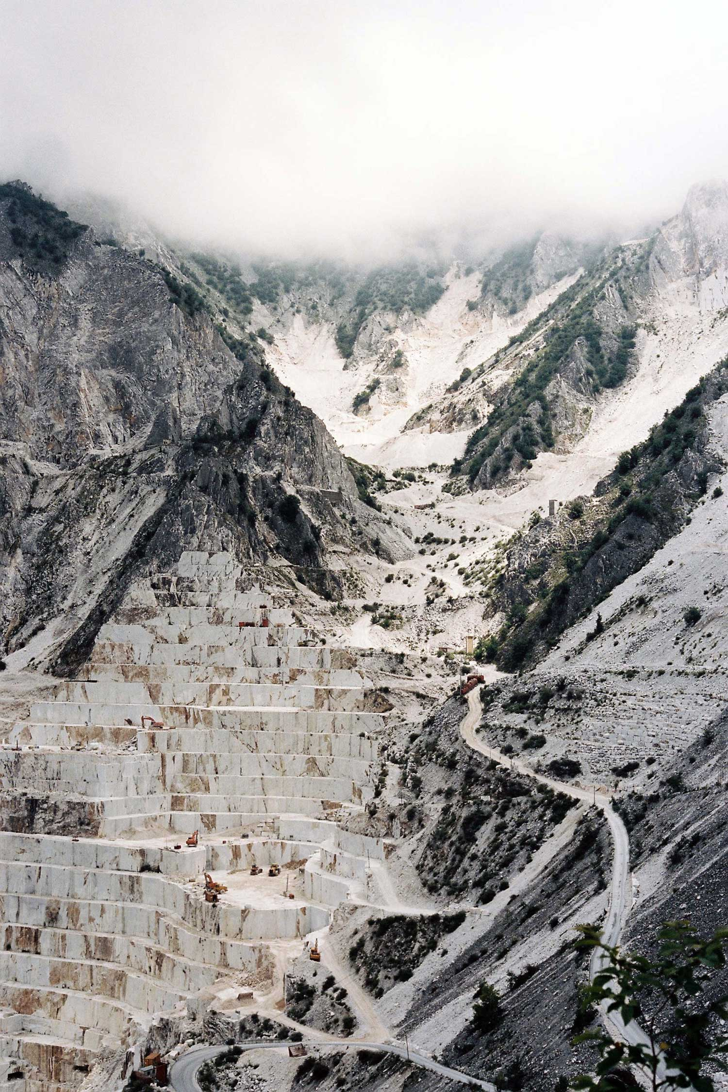 Deconstructed Quarry Landscapes by Virginie Khateeb | Yellowtrace