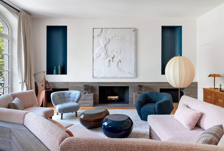 20th Century Belgian Home Restored By Pierre Yovanovitch