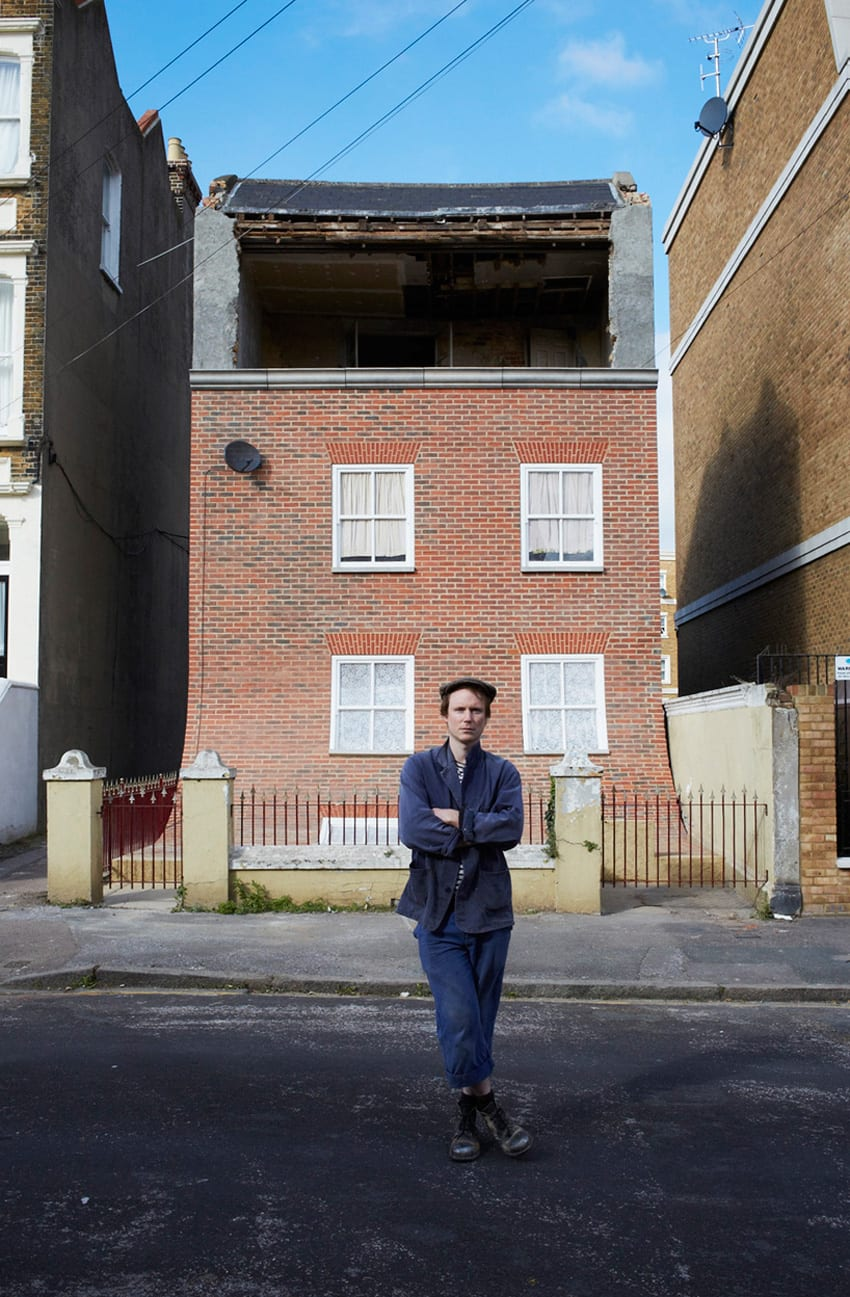From the Knees of my Nose to the Belly of my Toes by Alex Chinneck | Yellowtrace