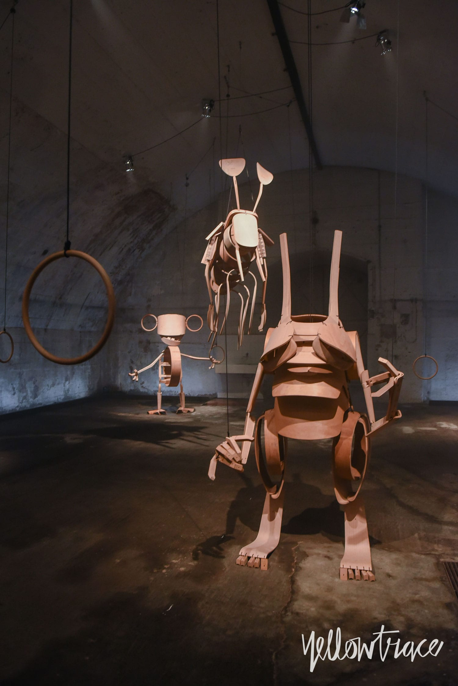 Giants with Dwarf by Stephan Hurlemann for horgenglarus at Milan Design Week 2018 | Yellowtrace