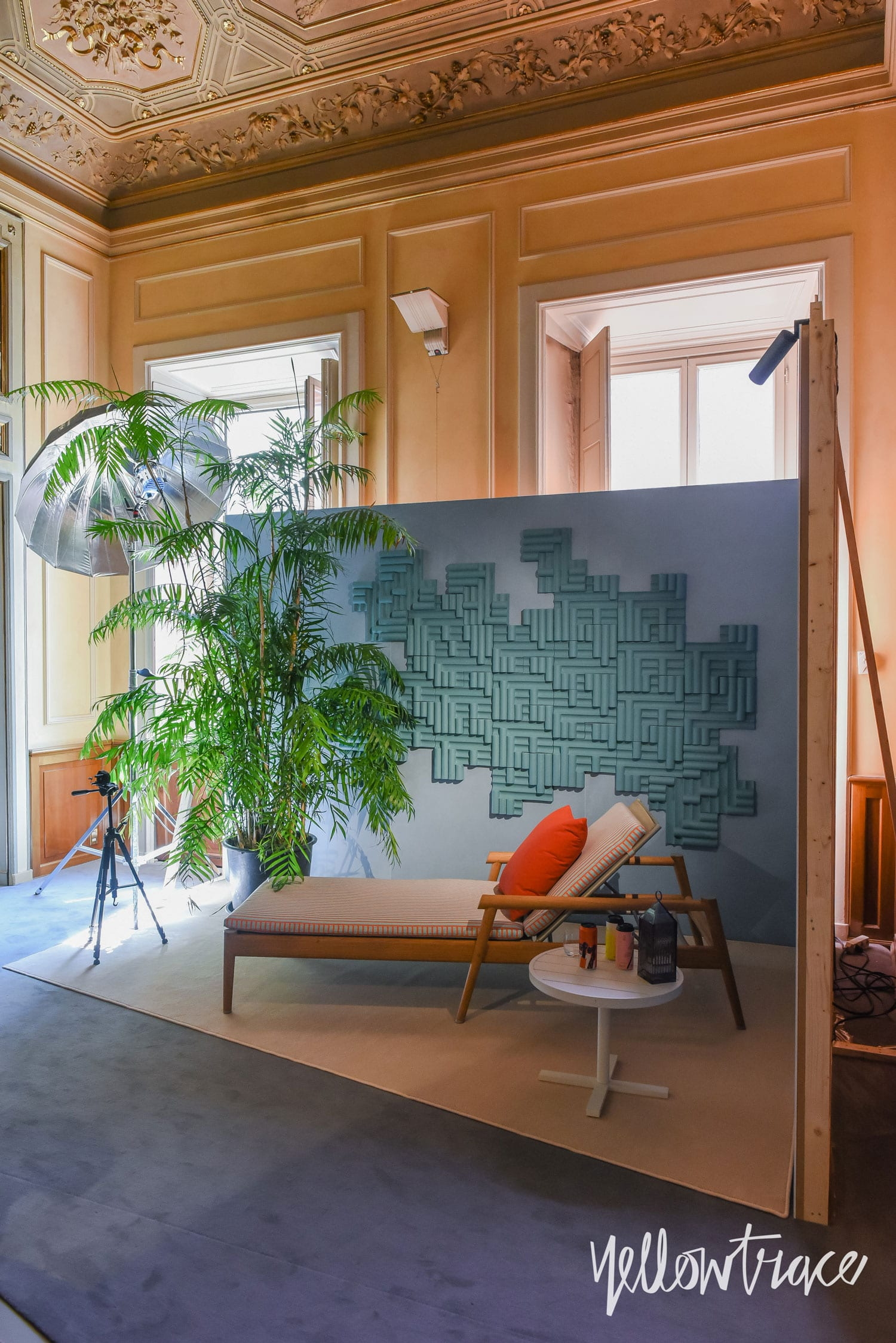 Milan Design Week 2018 Highlights, Elle Décor Italia installation at Palazzo Bovara. Photo © Nick Hughes | #Milantrace2018