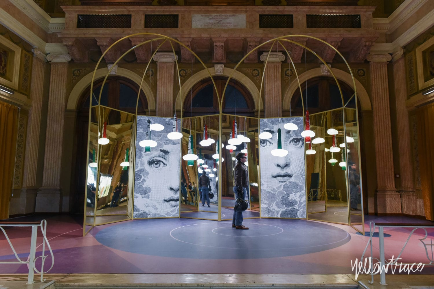 Milan Design Week 2018 Highlights, Kosmos installation by WonderGlass at Via Vivaio. Photo © Nick Hughes | #Milantrace2018