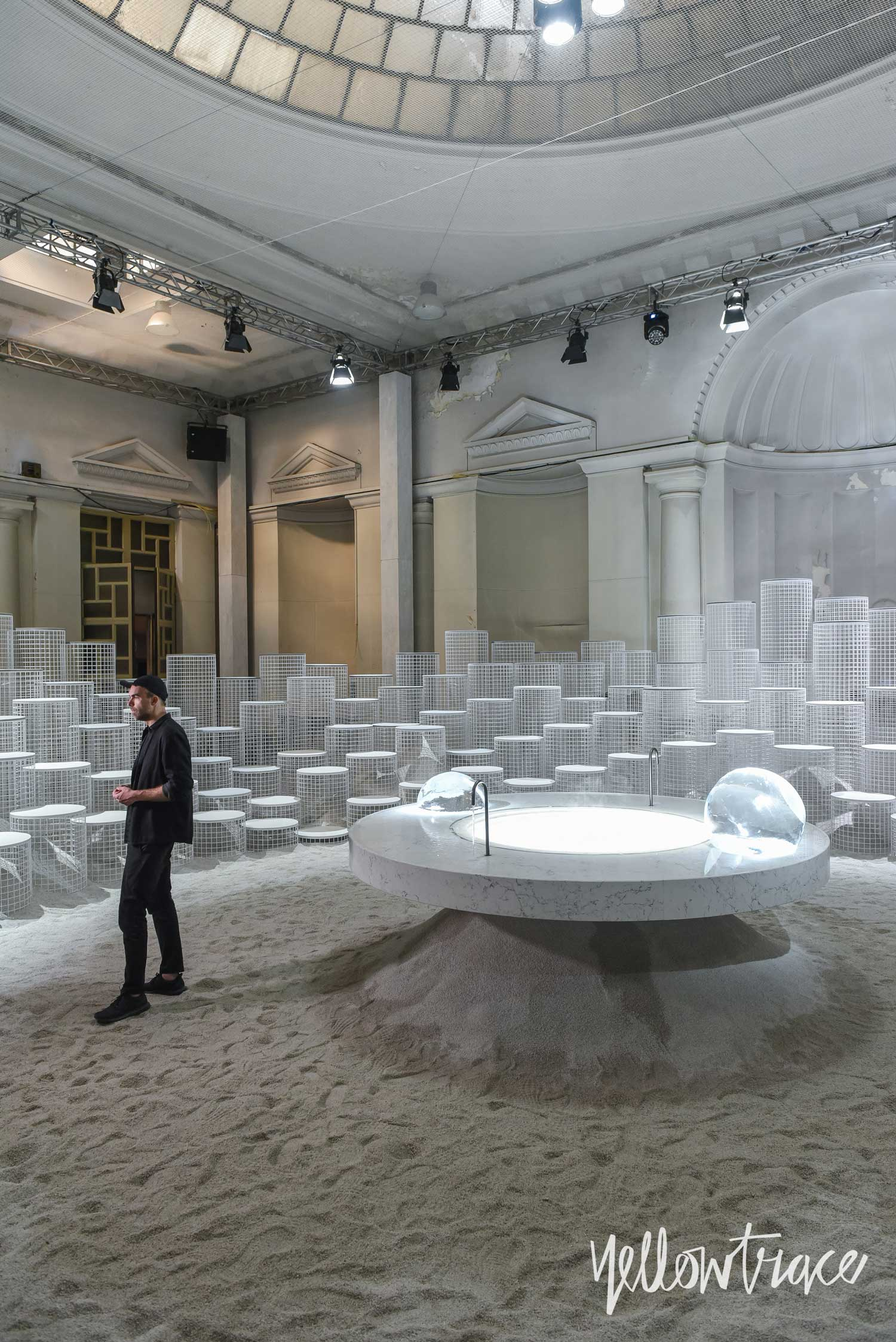Milan Design Week 2018 Highlights, 'Altered States' by Snarkitecture for Caesarstone. Photo © Nick Hughes | #Milantrace2018