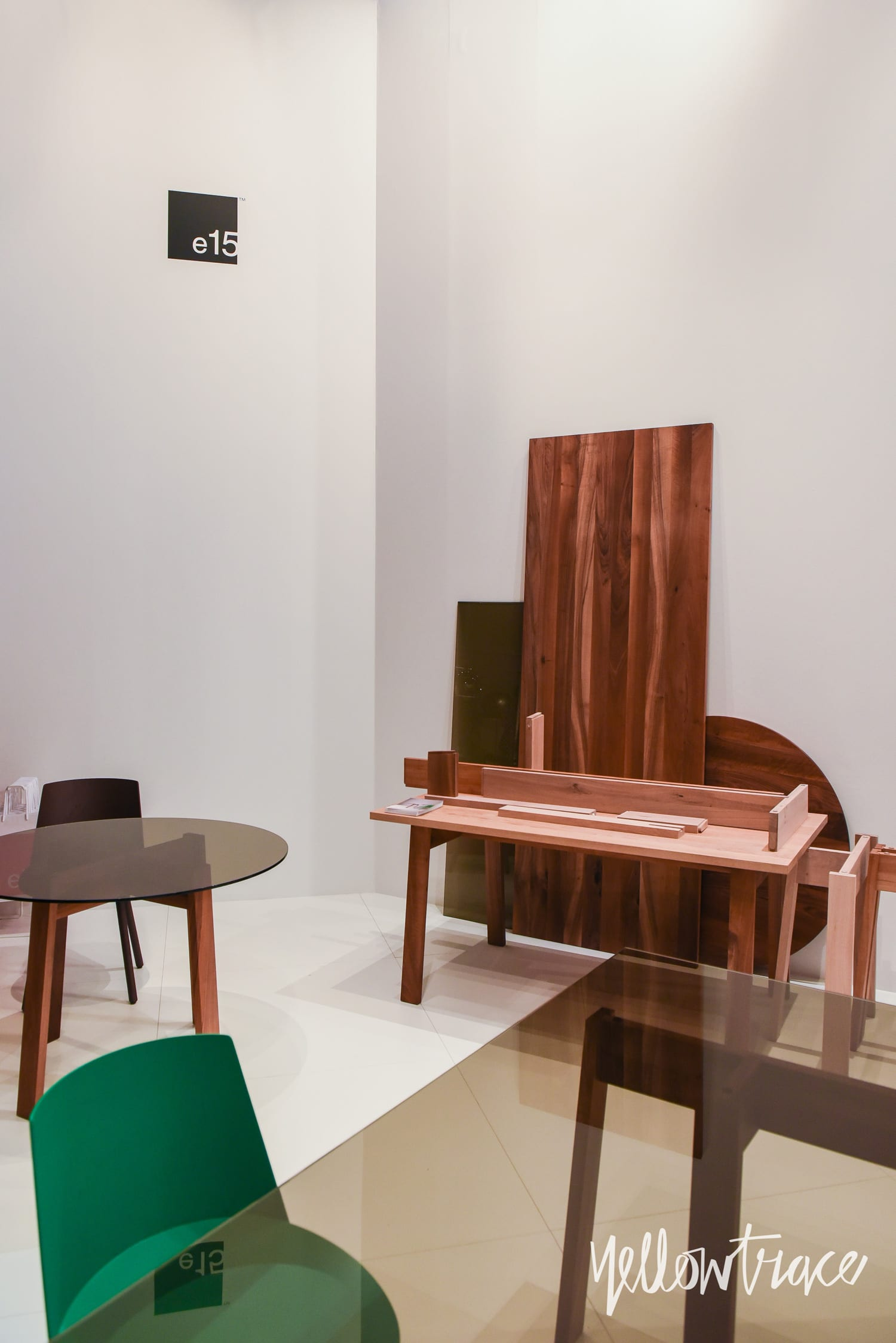 Milan Design Week 2018 Highlights, e15 Stand at Salone del Mobile 2018. Photo © Nick Hughes | #Milantrace2018