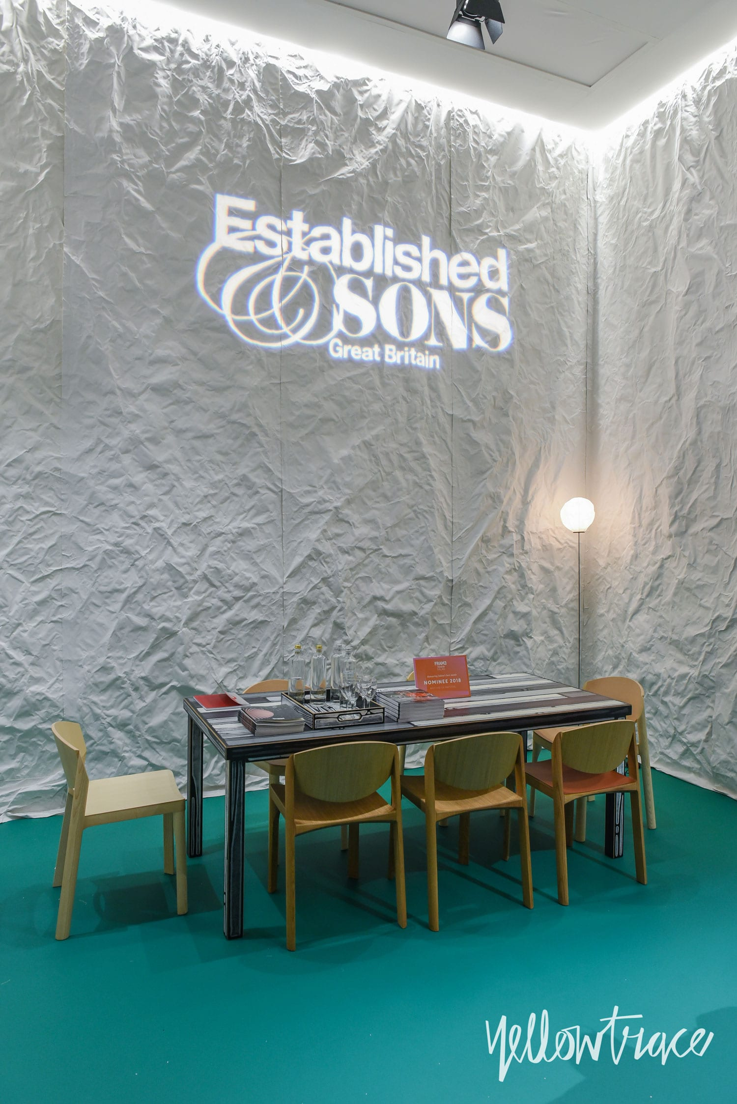 Milan Design Week 2018 Highlights, Established & Sons Stand at Salone del Mobile 2018. Photo © Nick Hughes | #Milantrace2018