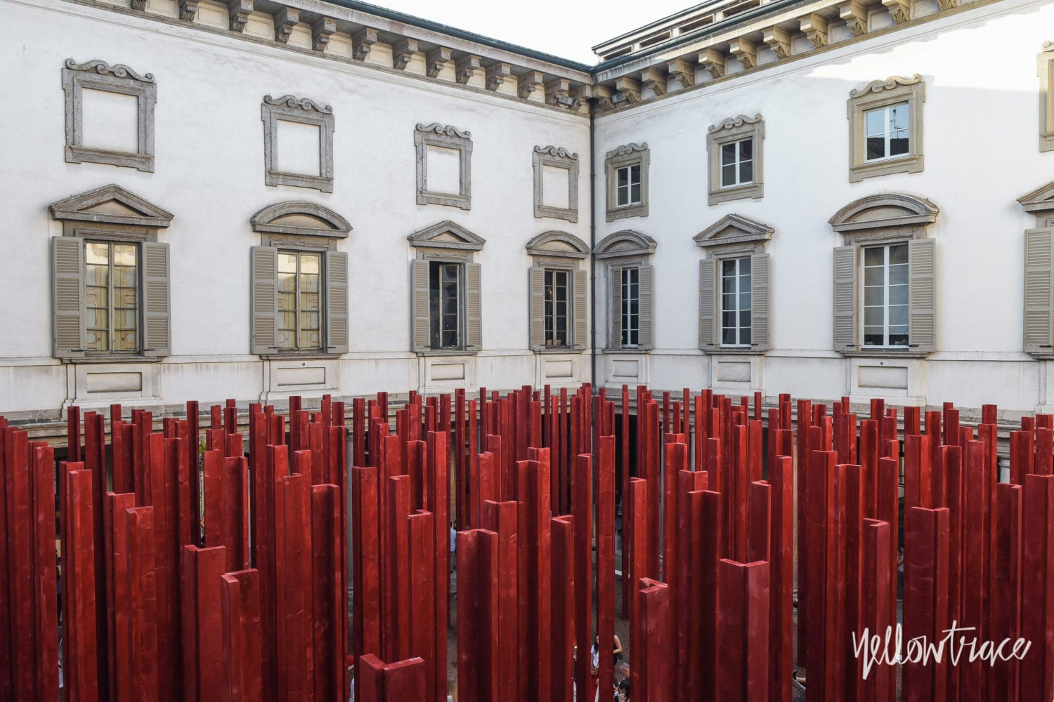Milan Design Week 2018 Highlights, 'Tempietto nel Bosco' installation by Asif Khanat Palazzo Litta. Photo © Nick Hughes | #Milantrace2018