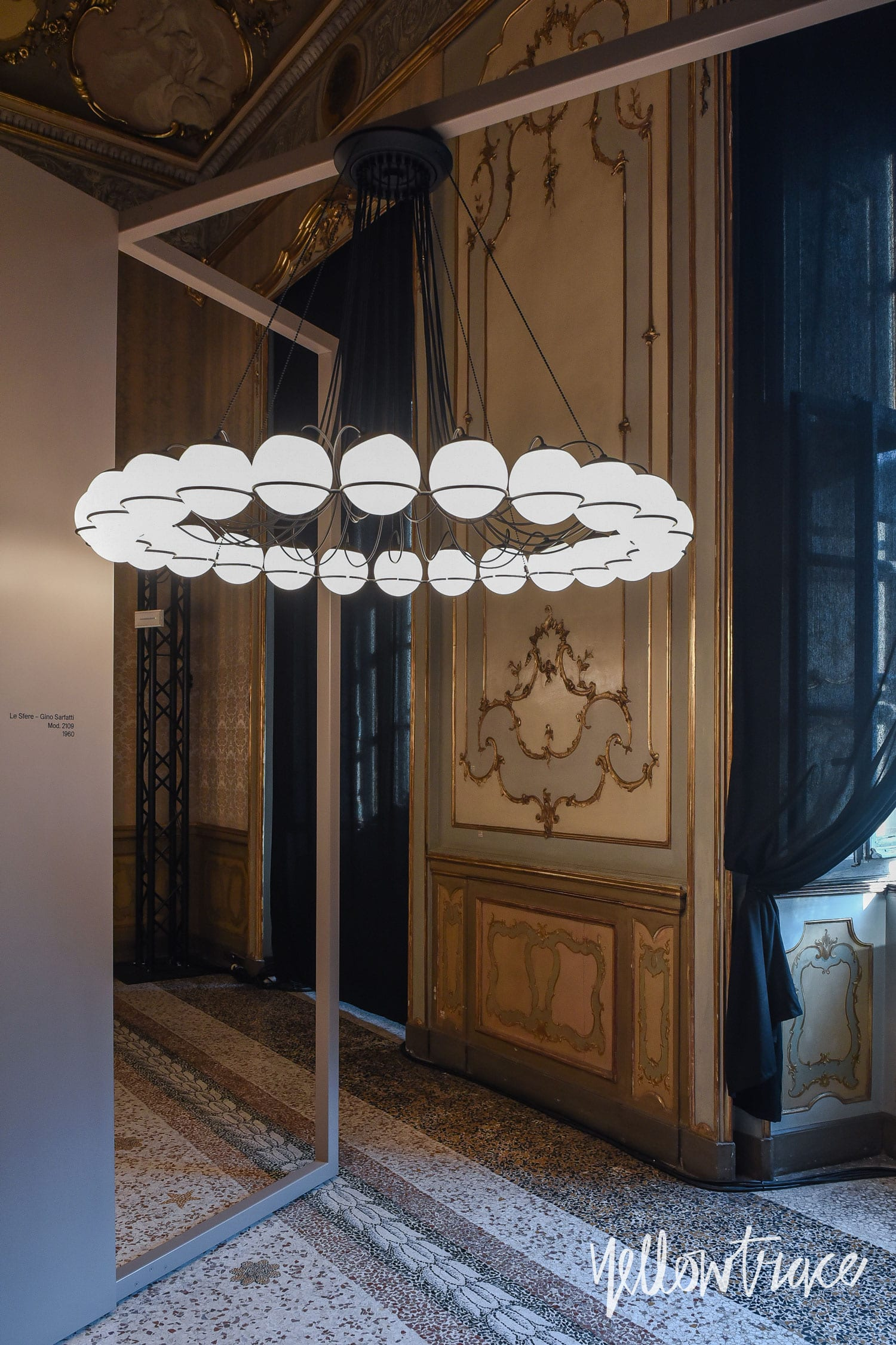 Milan Design Week 2018 Highlights, Le Sfere di Gino Sarfatti exhibition by Astep at Palazzo Litta. Photo © Nick Hughes | #Milantrace2018