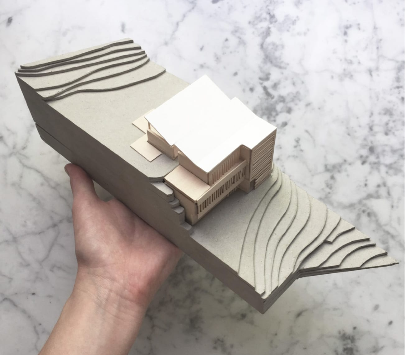 Model by Brad Swartz Architects | Yellowtrace