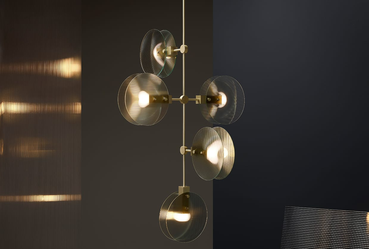 Ross Gardam Launches New Lighting Collection 'Nebulae' at ICFF | Yellowtrace
