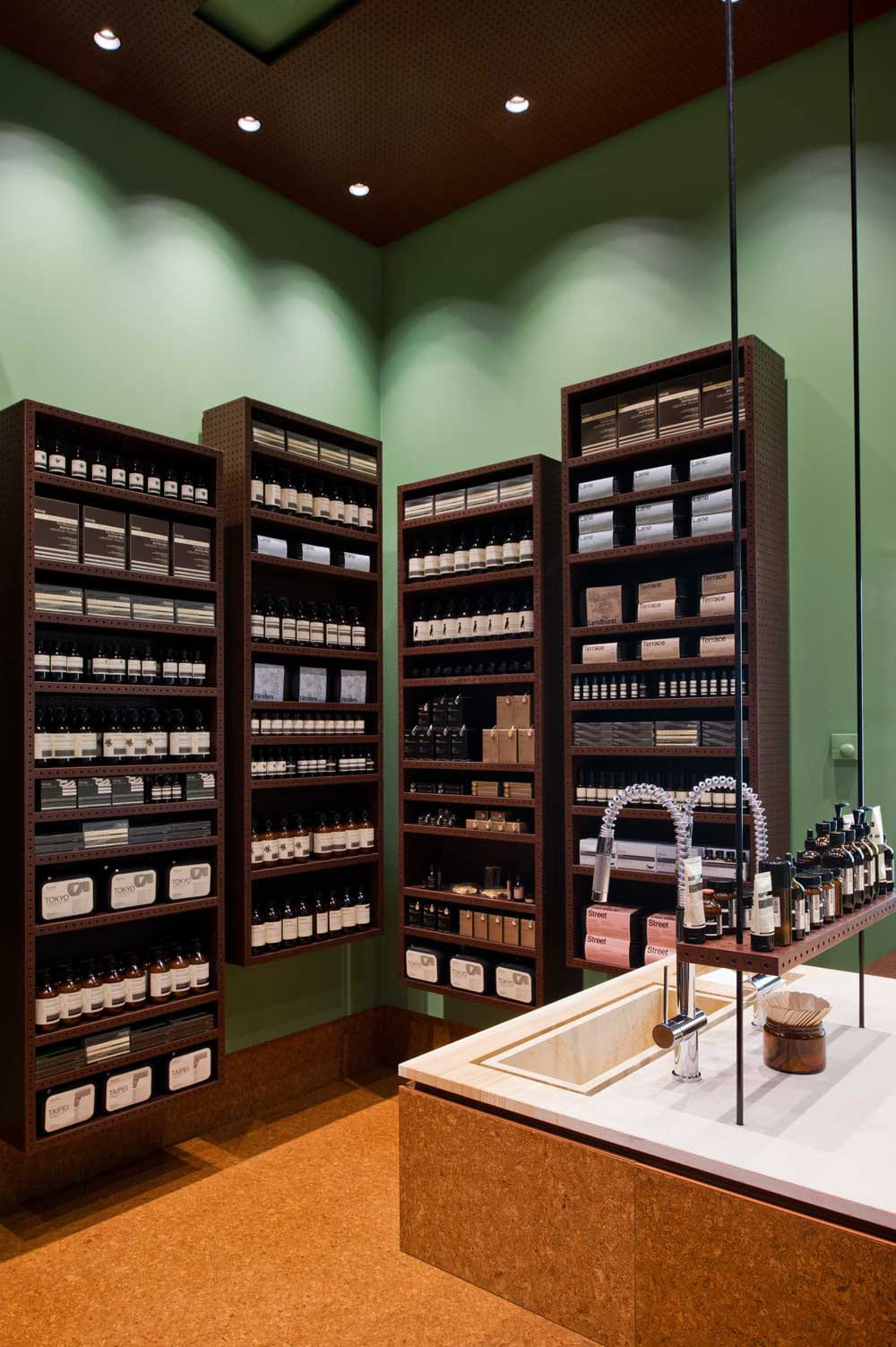 Aesop Claremont by Russell & George | Yellowtrace