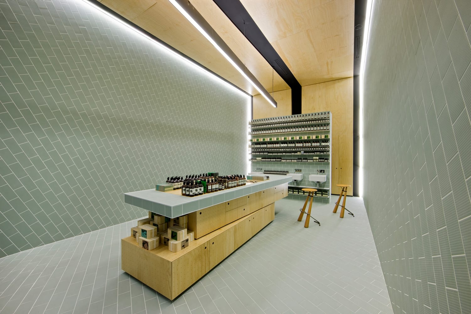 Aesop Doncaster Renewal by Russell & George | Yellowtrace