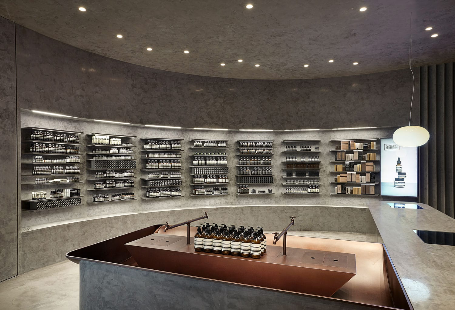 Aesop Seoul IFC by Russell & George | Yellowtrace
