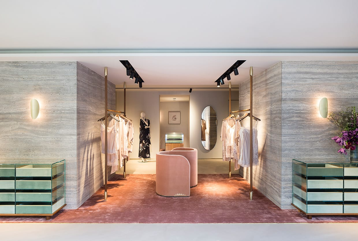 Carine Gilson Flagship Store Brussels by david/nicolas | Yellowtrace