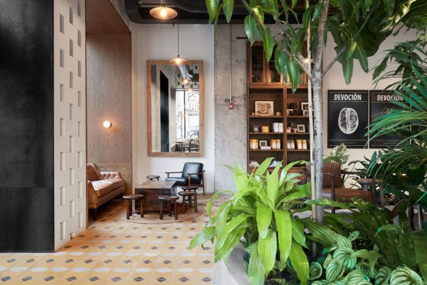 Devoción Coffee Shop in Brooklyn, NYC by LOT Office for Architecture Design   Yellowtrace