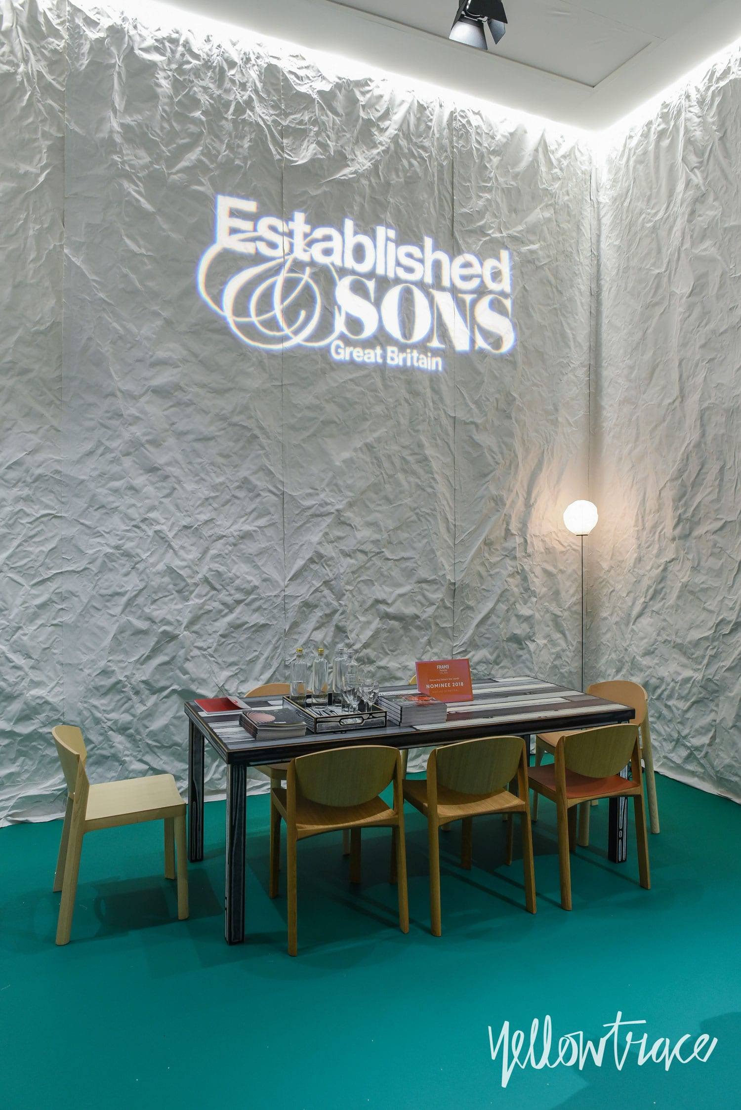 Established & Sons Salone del Mobile Highlights. Photo by Nick Hughes | #Milantrace2018