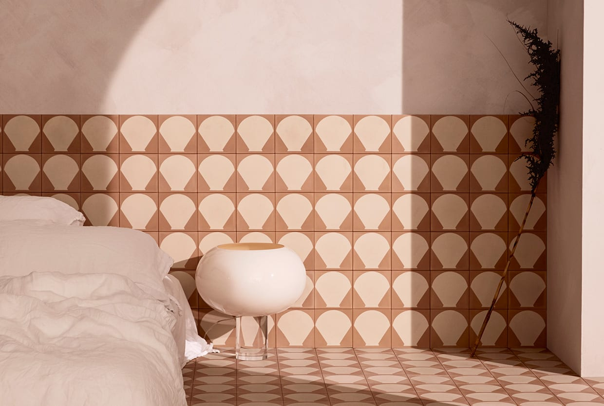 'Beach Club' Cement Tile Collection by Sarah Ellison for Teranova | Yellowtrace
