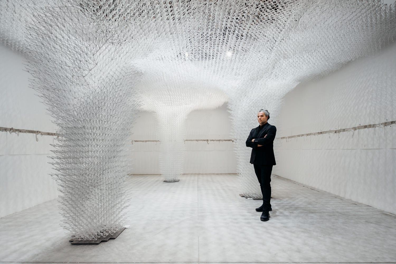 Cloud Pergola at The Croatian Pavilion, Venice Architecture Biennale 2018 | Yellowtrace