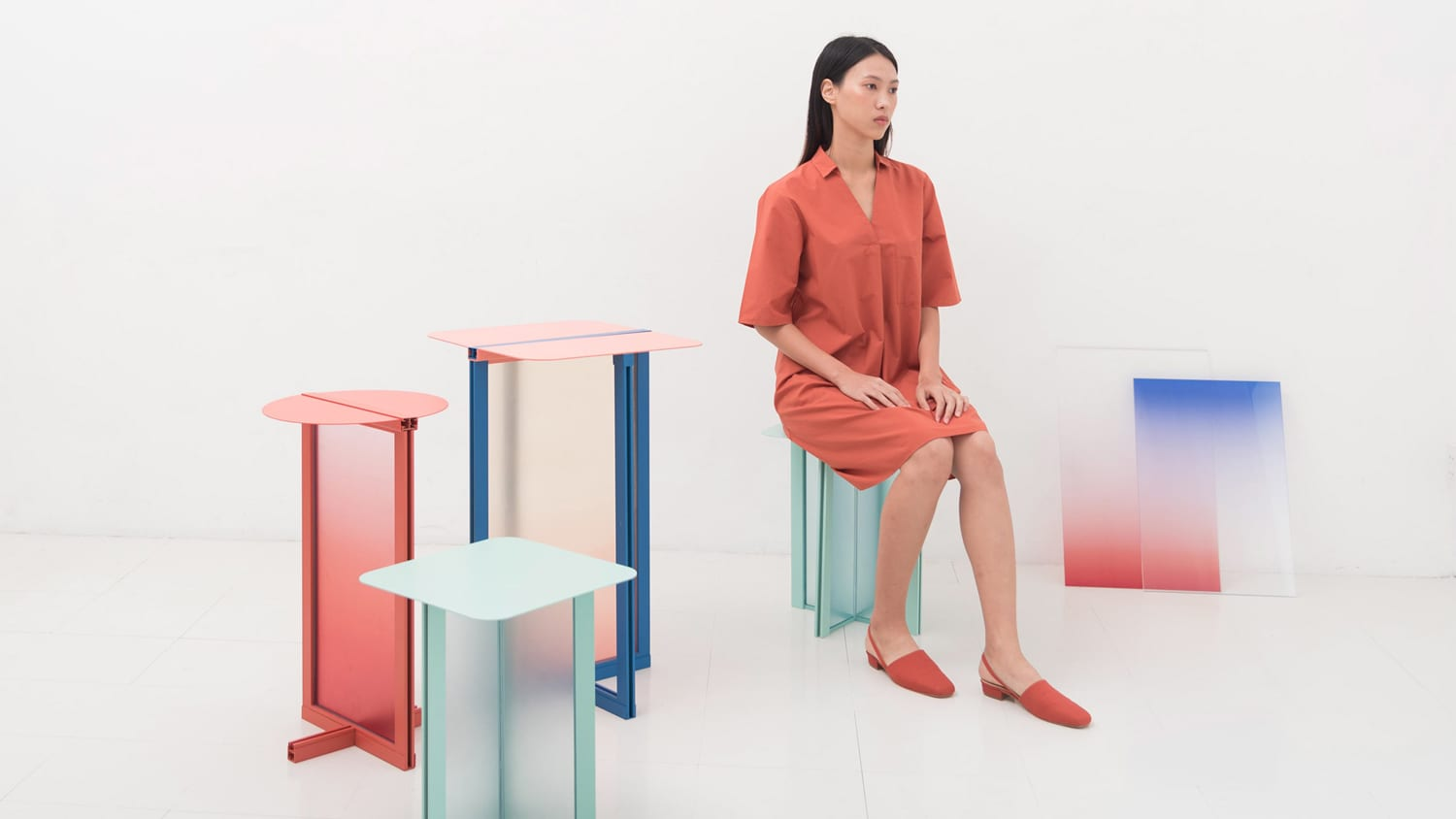 Bangkok Based Studio Femme Atelier Has Created A Collection Of Stools And  Side Tables That Draw Inspiration From Traditional Door And Window Frames  Called ...